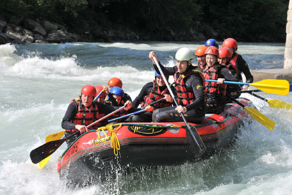 rafting pays basque activite seminaire convention