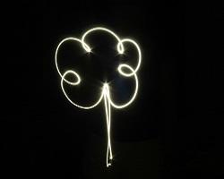 light painting seminaire activité