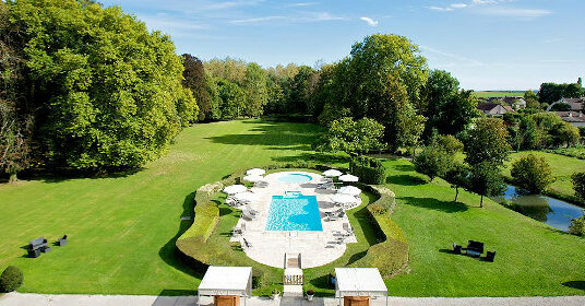 piscine chateau seminaire