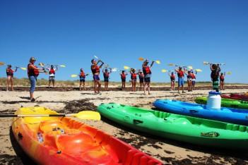 activité ile de ré séminaire kayak canoe